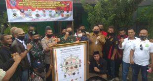 Korps brimob Polri Jaga Pilkada Depok